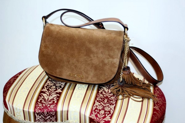(NEU) Leder-Saddle Bag