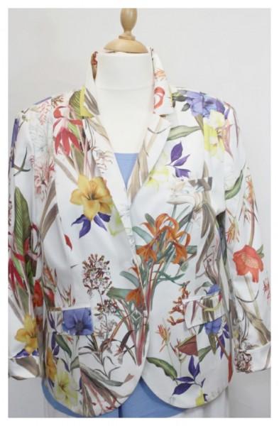 (NEU) Damenblazer mit floralem Motiv
