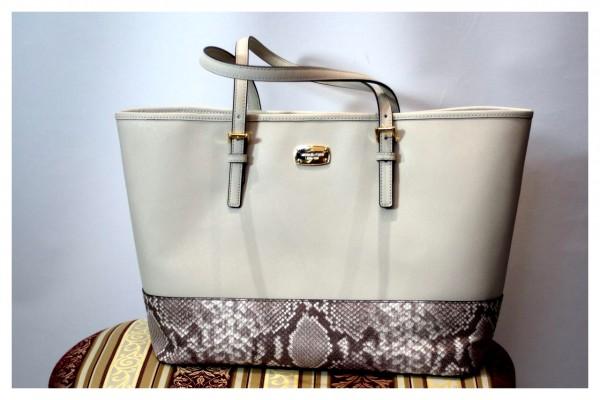 (NEU) Handtasche im Python Look