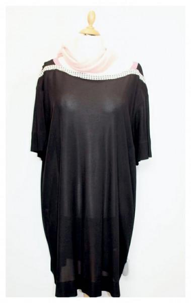 (NEU) Kleid schwarz mit Ziernaht